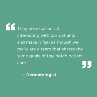 Dermatologist Quote