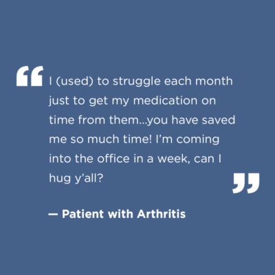 Patient's quote