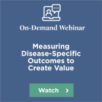 Webinar Measuring Disease-Specific Outcomes
